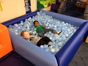 Who doesn't love the ball pit?